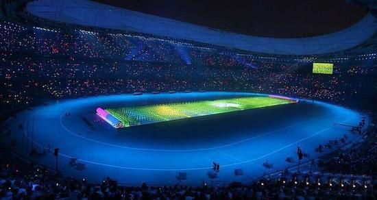 奥运会显示技术大解析:地面led显示屏幕总面积4564平米